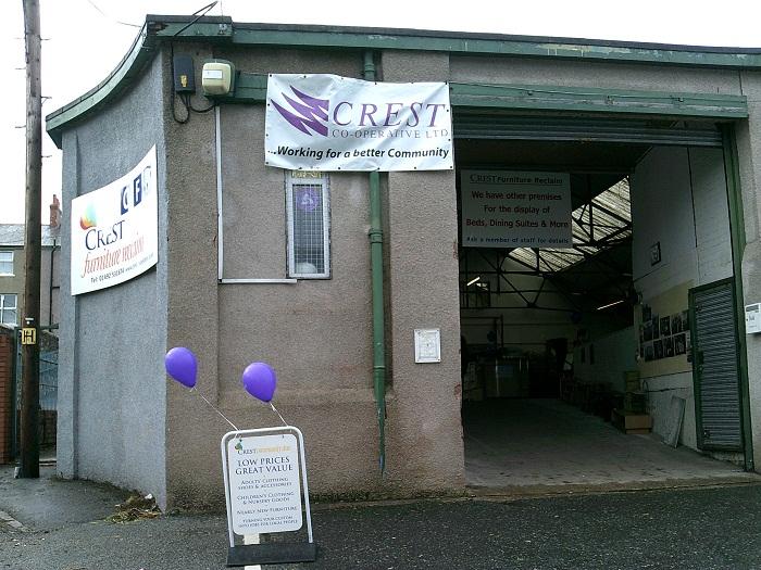 Colwyn Bay Crest Furniture Reclaim