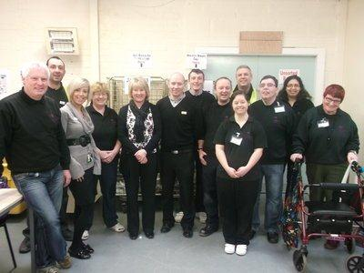 Staff at Crest Co-operative