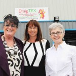 Leading by example, (from left) Linda Ann Wyn Jones (Director of Seren), Sharon Jones (CEO of Crest Co-operative) and Menna Jones (CEO of Antur Waunfawr)