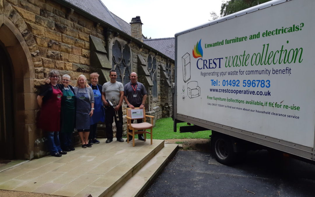 Crest Co-operative Help Local Food Bank
