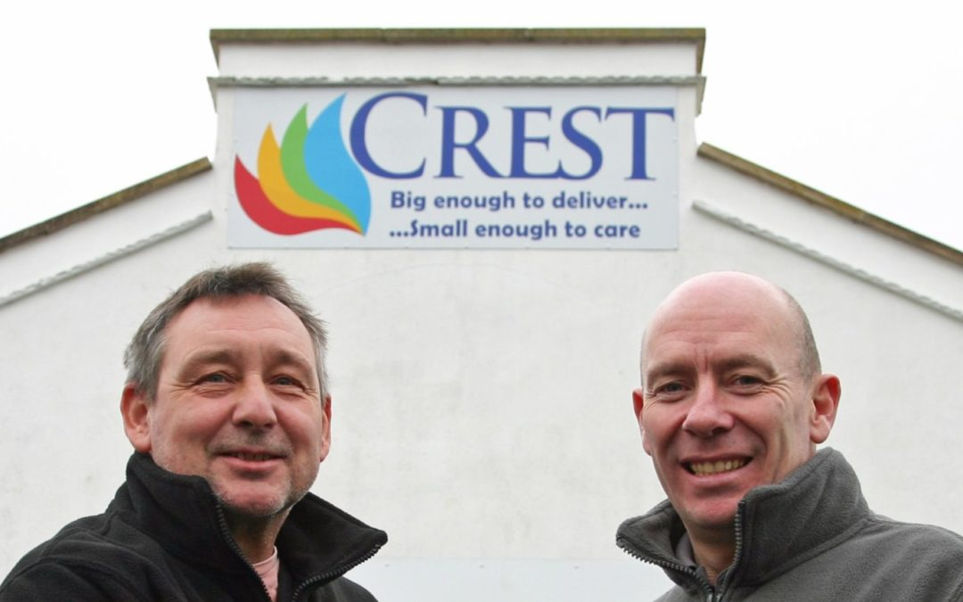 Reviive and Crest Co-operative Celebrate Working Relationship with New Twelve Month Warranty on White Goods