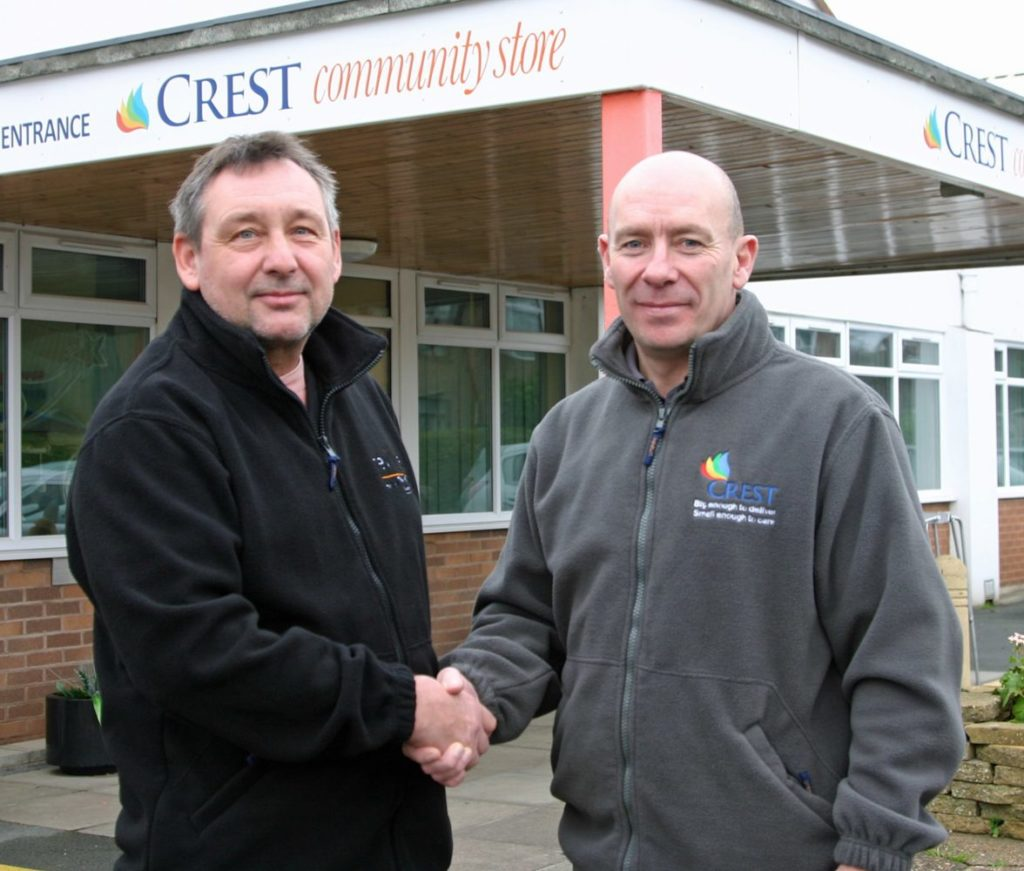 Andy Holland reviive and crest co-operative celebrate working