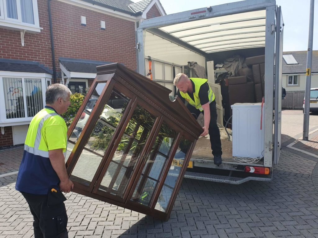 Unwanted Furniture, Electronics, Textile Collections Conwy North Wales